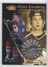 1996-97 Pinnacle Mint Silver #6 Peter Forsberg Colorado Avalanche Hockey Card