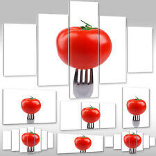 Canvas Picture Art print Mural for the kitchen Fruit & Vegetables red Tomato
