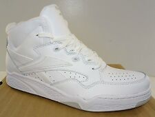 REEBOK BB4600 Mid Men's Basketball Shoes  White Leather  NWD   13M