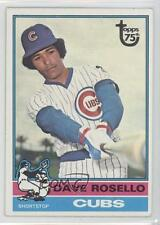 2014 Topps 75th Anniversary Buybacks #1976-546 Dave Rosello Chicago Cubs Card