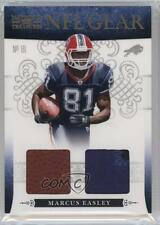 2010 Playoff National Treasures NFL Gear Combos Prime #29 Marcus Easley Card