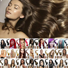 """Best 5A Quality Pre Bonded Nail U Tips 16""""-20"""" 100% Human Hair Extensions 0.5g"""