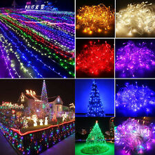 10m 20m 30m 50m 100m String Fairy Lights Indoor Outdoor Home Party Dec Xmas Gift