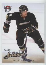 2008 Fleer Ultra 105 Teemu Selanne Anaheim Ducks (Mighty of Anaheim) Hockey Card