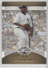 2010 Topps Triple Threads Gold #50 CC Sabathia New York Yankees Baseball Card