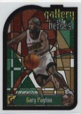1999 Topps Gallery of Heroes GH6 Gary Payton Seattle Supersonics Basketball Card