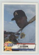 1993 Fleer ProCards South Atlantic League All-Star Game #SAL-32 Danny Clyburn