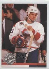 1991-92 Pro Set Platinum #192 Brent Gilchrist Montreal Canadiens Hockey Card