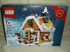 Sealed Lego 40139 Winter Village Gingerbread House Seasonal Lego Shop Exclusive!