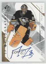 2006 SP Authentic Chirography Autographed #MF Marc-Andre Fleury Auto Hockey Card