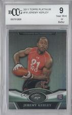 2011 Topps Platinum #16 Jeremy Kerley New York Jets England Patriots Rookie Card