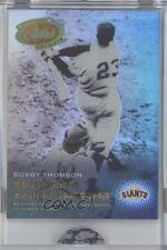 2005 eTopps Classic Events CE1 Bobby Thompson San Francisco Giants New York Card