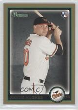 2010 Bowman Draft Picks & Prospects Gold #BDP97 Rhyne Hughes Baltimore Orioles
