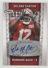 2011 SAGE Hit Autographs #A2 Delone Carter Auto Autographed Rookie Football Card