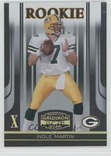 2006 Donruss Gridiron Gear Gold X's #154 Ingle Martin Green Bay Packers Card