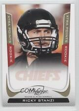 2011 Panini Prestige Xtra Points Gold #281 Ricky Stanzi Kansas City Chiefs Card