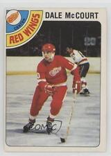 1978-79 O-Pee-Chee #132 Dale McCourt Detroit Red Wings RC Rookie Hockey Card
