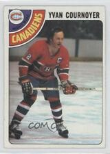 1978-79 Topps #60 Yvan Cournoyer Montreal Canadiens Hockey Card