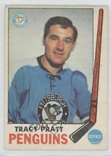1969-70 O-Pee-Chee #111 Tracy Pratt Pittsburgh Penguins RC Rookie Hockey Card
