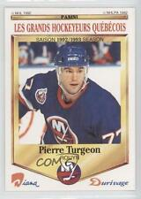 1992-93 Panini Diana/Durivage Les Grands Hockeyeurs Quebecois #11 Pierre Turgeon