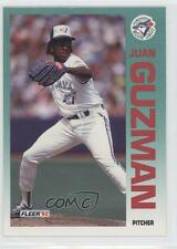 1992 Fleer #330 Juan Guzman Toronto Blue Jays RC Rookie Baseball Card