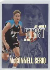 1999 WNBA Hoops Skybox All-WNBA First Team 5AW Suzie McConnell Serio Rookie Card