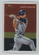 2010 Topps Chrome National Chicle CC2 Grady Sizemore Texas Rangers Baseball Card