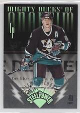 1996-97 Leaf Preferred Steel Power #10 Teemu Selanne Hockey Card