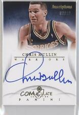 2012-13 Panini Immaculate Collection Inscriptions #IN-CM Chris Mullin Auto Card