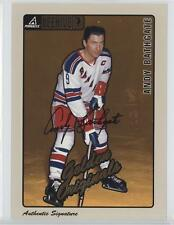 1997-98 Pinnacle Beehive Signature Autographed 62 Andy Bathgate Auto Hockey Card