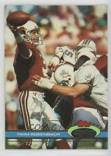 1991 Topps Stadium Club #45 Timm Rosenbach Arizona Cardinals Football Card
