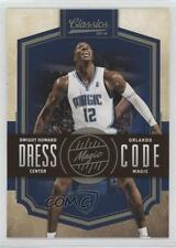 2009 Panini Classics Dress Code #12 Dwight Howard Orlando Magic Basketball Card