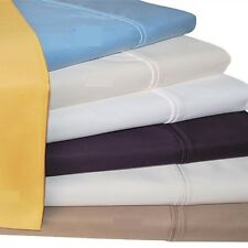"Real 400TC 100% Egyptian Cotton Ultra Soft Solid 4PC Sheet Set 14""Deep CA Size"
