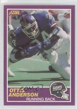 1989 Score Supplemental #348S Ottis Anderson New York Giants Football Card
