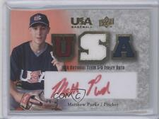 2008 Upper Deck USA Baseball Teams Box Set #18U-MP Matt Purke Auto Rookie Card