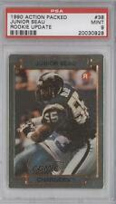1990 Action Packed Rookie Update #38 Junior Seau PSA 9 San Diego Chargers Card