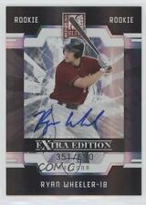 2009 Donruss Elite Extra Edition #72 Ryan Wheeler Arizona Diamondbacks Auto Card