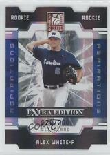 2009 Donruss Elite Extra Edition Aspirations #55 Alex White Cleveland Indians