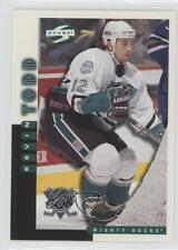 1997 Score Team Collection Anaheim Mighty Ducks 6 Kevin Todd (Mighty of Anaheim)