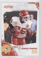 2010 Score #145 Jamaal Charles Kansas City Chiefs Football Card