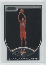 2007 Bowman Draft Picks & Stars Chrome #160 Brandan Wright Golden State Warriors