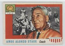 1955 Topps All American #38 Amos Alonzo Stagg Yale Bulldogs RC Football Card