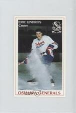1989-90 Oshawa Generals PLAY (Police Laws and Youth) #31 Eric Lindros (OHL) Card