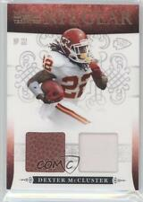 2010 Playoff National Treasures NFL Gear Combos Prime #34 Dexter McCluster Card