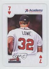2010 Academy Sports & Outdoors Atlanta Braves Playing Cards #7H Derek Lowe Card