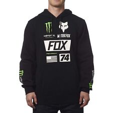 NEW FOX RACING BLACK MONSTER ENERGY PRO CIRCUIT UNION PULLOVER HOODY MENS ADULT