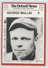 1981 Detroit News Tigers Boys of Summer 100th Anniversary #119 George Mullins