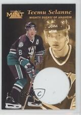 1996-97 Pinnacle Mint #13 Teemu Selanne Anaheim Ducks (Mighty of Anaheim) Card