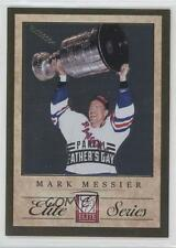 2011-12 Panini Elite Series Father's Day #4 Mark Messier New York Rangers Card