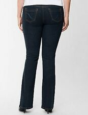 NEW Lane Bryant Genius Fit Slimming Jean Women Plus Size 14W & 22W Straight BOOT